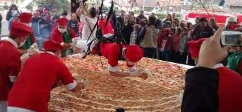 A maior pizza do Brasil será feita com Queijos Stefanello