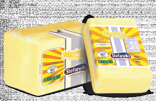 Manteiga em barra