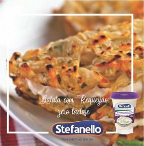 Batata com requeijão Zero Lactose